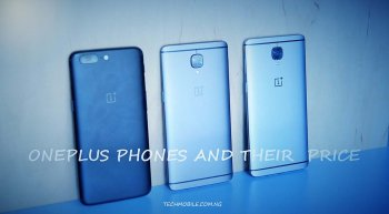 Oneplus phones and their prices in Nigeria