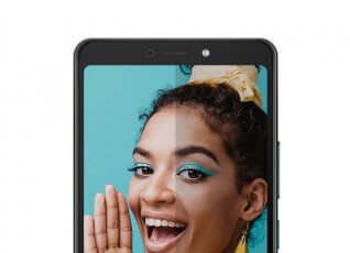 Itel A55 – The Big screen you can Afford.