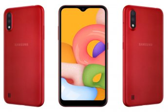 Samsung Galaxy A01 – The Budget A