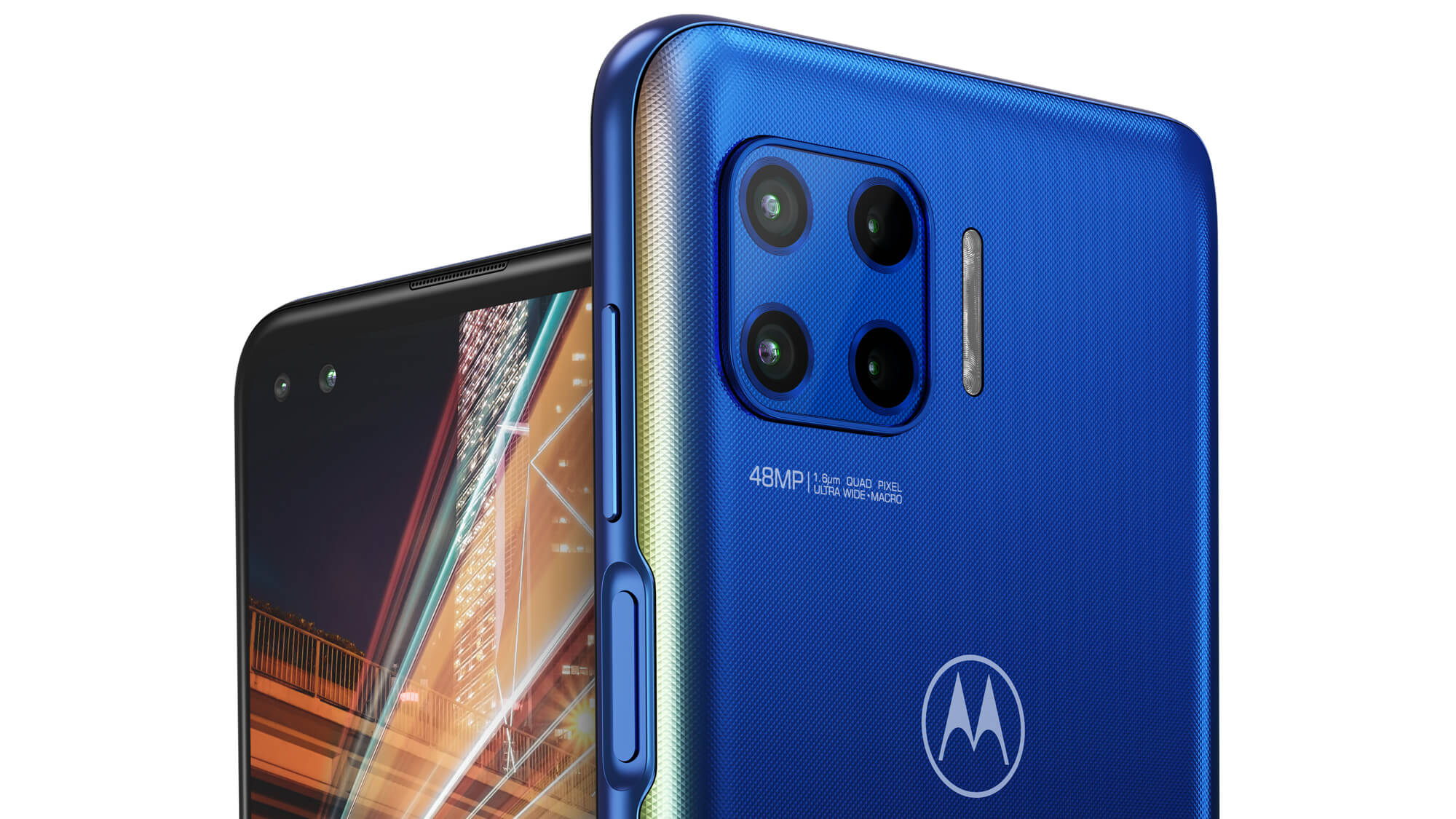 With the four cameras available on the Motorola Moto G 5G ...